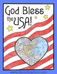 Create a CATHOLIC AMERICAN FLAG