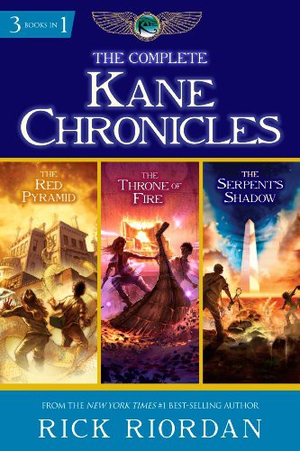 Series Reader K. & J. Iturrubiates: Kane Chronicles by Rick Riordan