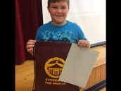 Our 4th grade Citizen of the Month