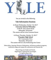 Yale Info Session