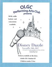 "Fall PAC Show 2017 ""Disney Dazzle"""
