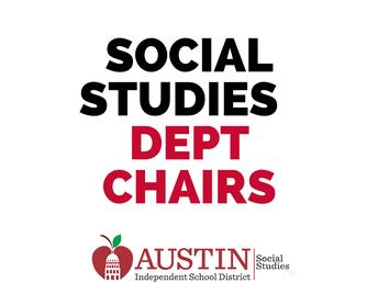 SS HS Department Chair Meeting #3