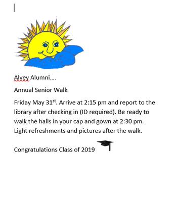 Alvey Alumni Walk