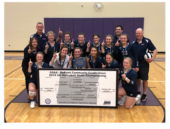 Lady Trojans win 2A Volleyball State Championship
