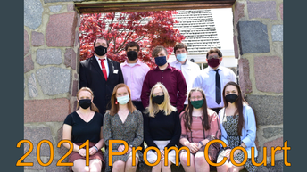 CSA New Tech Prom Court