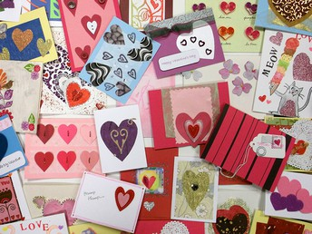 Valentine Card Delivery to Assisted Living Facility