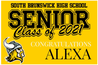 CLASS OF 2021 LAWN SIGNS ARE NOW AVAILABLE!!