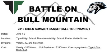 2nd Annual Battle on Bull Mountain Summer Tournament