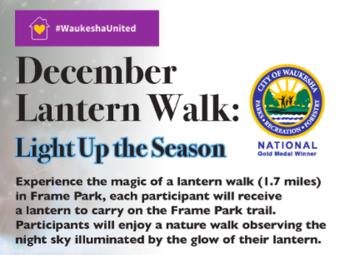 City of Waukesha - December Lantern Walk