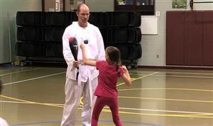 SRES Takes on Taekwondo for PE