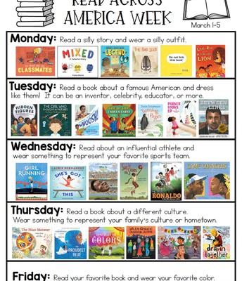 Brookside Celebrates Read Across America Week
