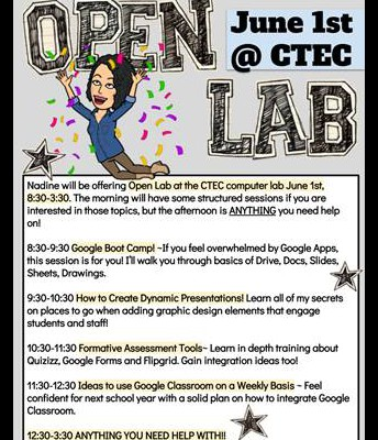 Open Lab 6/1/18