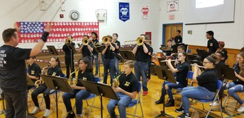 The Band plays tribute to our Veterans!