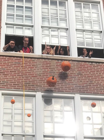 WHS Science Club Rains Pumpkins on Eldorado
