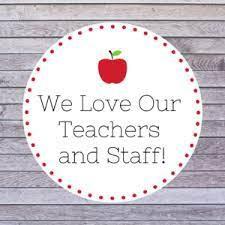 National Teacher/Staff Appreciation Week!