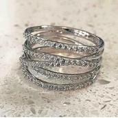 Pavé Stellar Ring