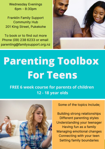Parenting Toolbox for Teens: