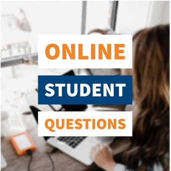 online student questions graphic