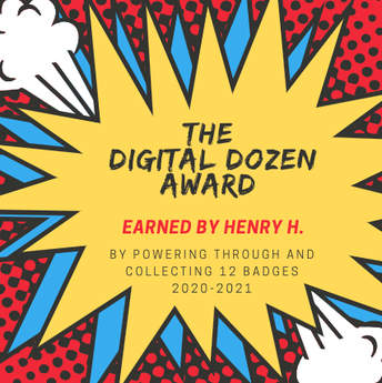 Digital Dozen Award
