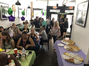 Thank you, DHOP, for hosting a staff A+ Celebration!