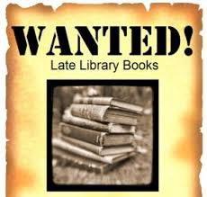 Please Help - The countdown is on to return those Library books!!