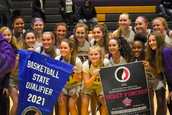 Girls Basketball Named State Runners-Up