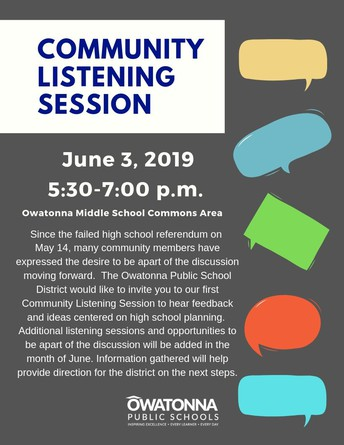 Community Listening Session