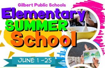 Elementary Summer School Information