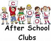 After School Enrichment Clubs!