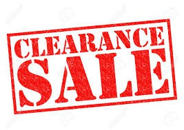 Clearance Updated 9/25