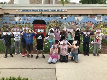 3rd Graders Reflecting