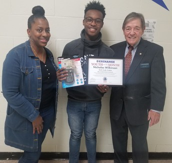 Student of the Month: November