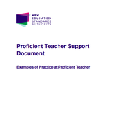 NESA: Examples of Practice at Proficient Teacher