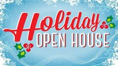 HOLIDAY OPEN HOUSE A SUCCESS!