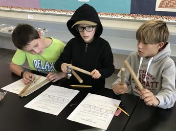 VAPA composing with musical form- 3rd grade