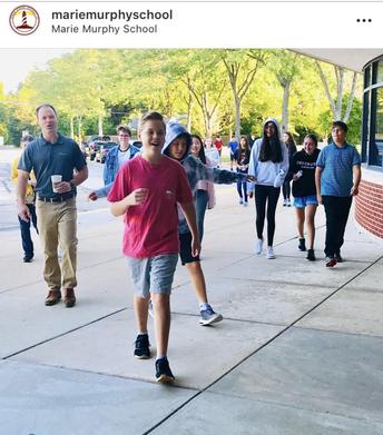8th Grade Science Pre Assessment Walk!