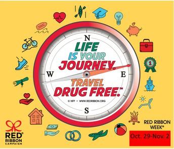 Red Ribbon Week        Oct. 29-Nov. 2