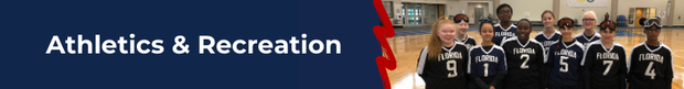 Athletics and Recreation banner