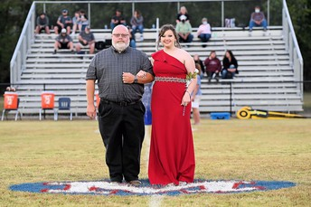 Laurel with her dad, Brad
