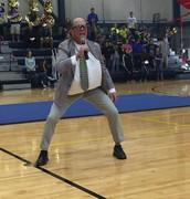 Coach Searle inspires!