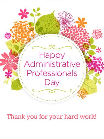 Administrative Assistant Day - Wednesday, April 24th