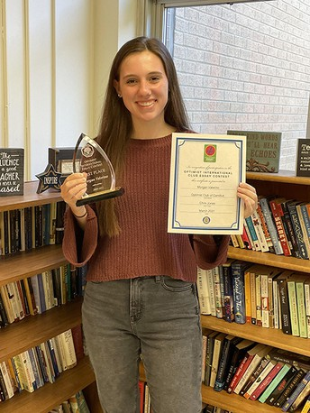WGHS Student Recognized in the 2020-2021 Optimist International Essay Contest