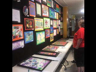 Art Auction and Display