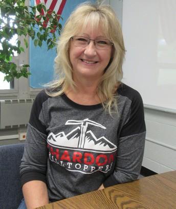 Mrs. Gretchen Wolfe, Board Office Secretary of Business Affairs