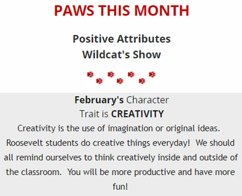 PAWS of the Month: Creativity