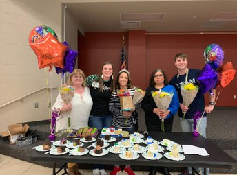 Congratulations Teacher and Employees of the Year!