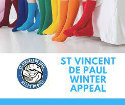 Winter Appeal for St Vinnies