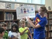 Superhero Writing ~ Kindergarten