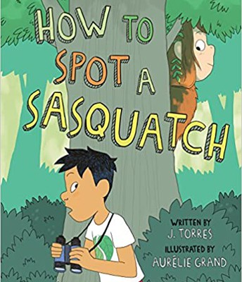 Read online: How to Spot a Sasquatch! A GN for grades 2-4