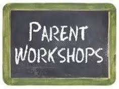 Parent Workshops sign